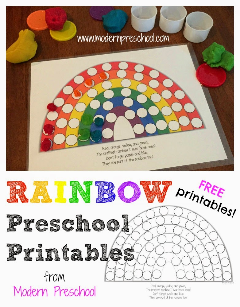 Activity Rainbow Colors Amp Fill The Pots Of Gold Free