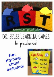 Dr. Seuss {1 Fish, 2 Fish, Red Fish, Blue Fish} Learning Games