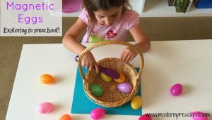 Plastic Egg Magnetic Science In Preschool