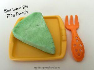 Key Lime Pie Play Dough Recipe