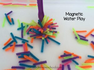 Pipe Cleaner Magnetic Water Play