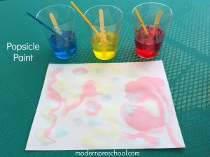 Popsicle Paint Recipe for Kids