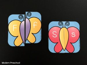 Butterfly Alphabet Puzzles