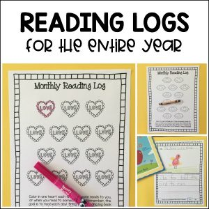 Monthly reading logs for preschoolers and kindergarteners to use at school and home! 20 themes, response pages, and parent information included.