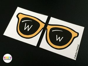 Free Alphabet Match Sunglasses