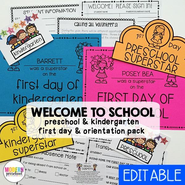 welcome-back-school-printable-preschool-kindergarten-pack
