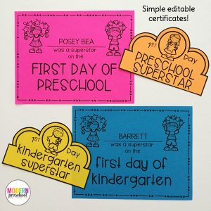 Welcome to School Pack for Preschool & Kindergarten