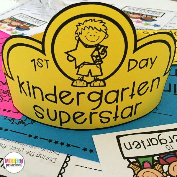 editable welcome to school pack for preschool pre k kindergarten