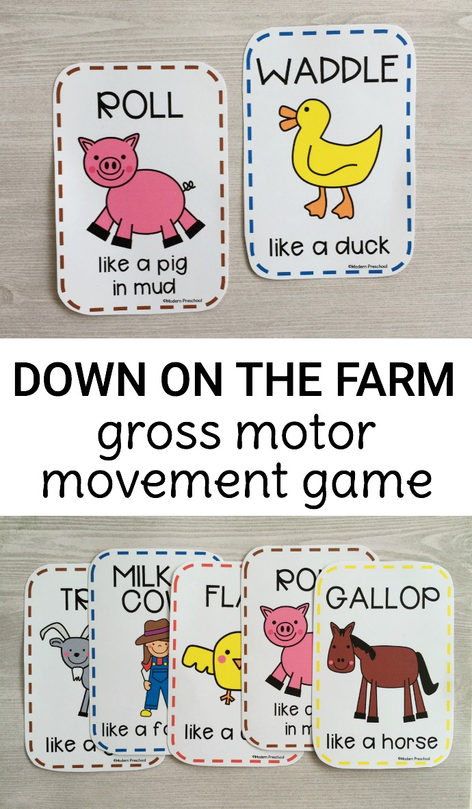 Farm Animals Beginning Letter Clip Cards Itsy Bitsy Fun