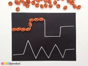 Pumpkin Pre-writing Activity