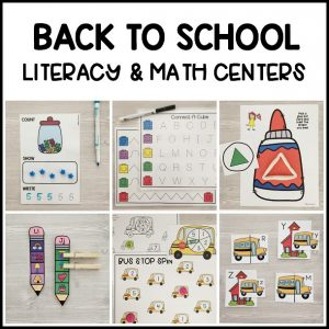 The BEST hands-on ocean literacy & math centers. Kid-friendly, low prep printable learning centers for preschool, prek, kindergarten!