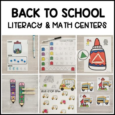 The BEST hands-on ocean literacy & math centers. Kid-friendly, low prep printable learning centers for preschool, prek, kindergarten!