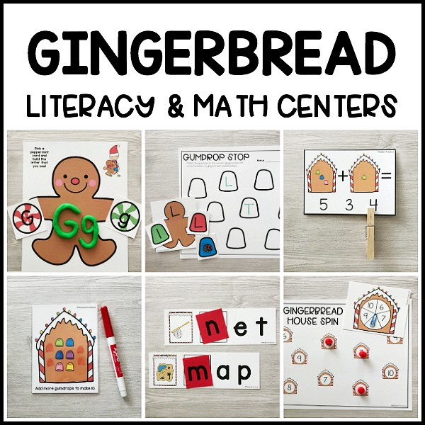 20+ ENDLESS BUNDLE: Themed Literacy & Math Centers - Modern Preschool